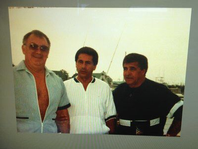 Another very rare photo of Bobby Ross , gaspipe casso and Vic orena