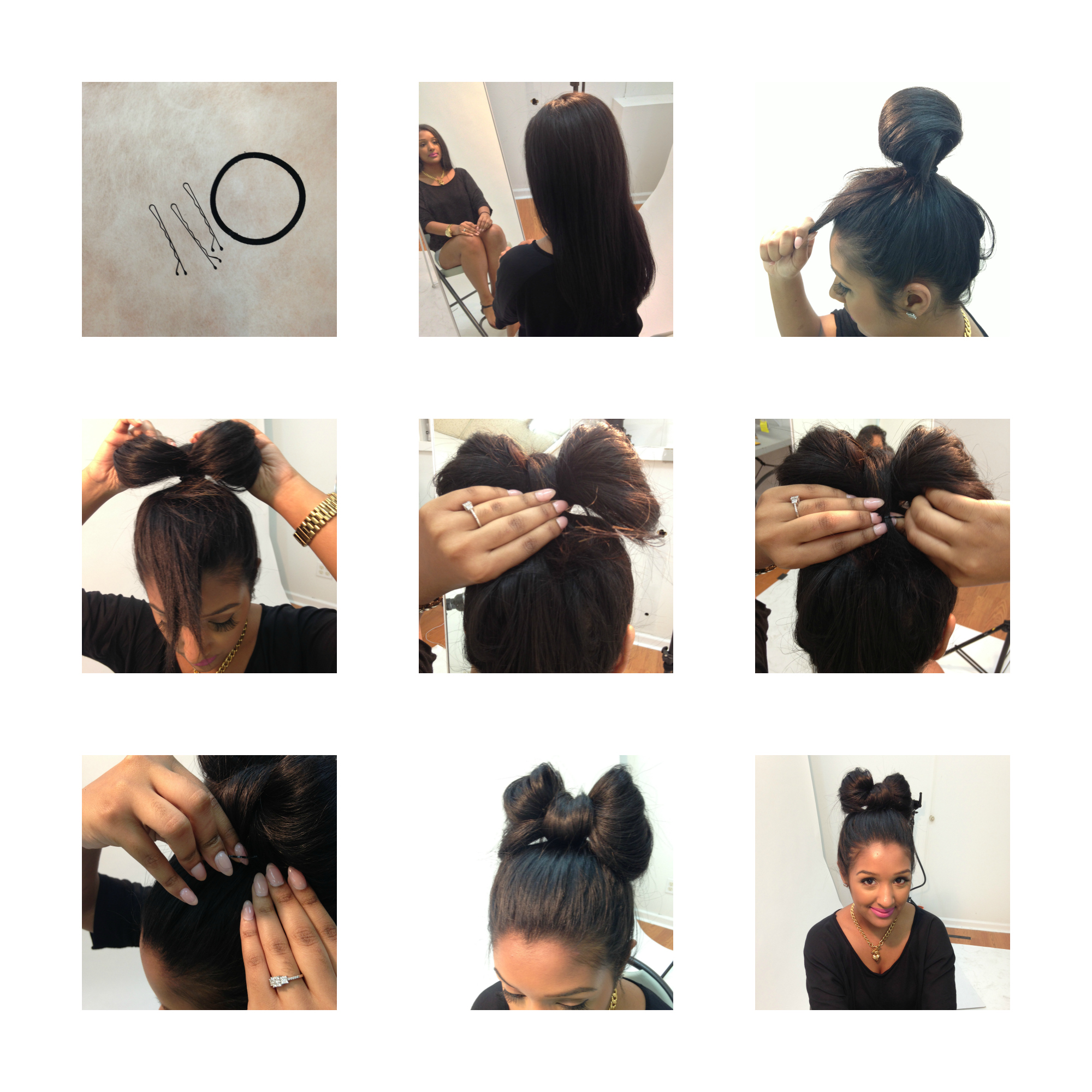 Simple Diy Hairstyles Everyday: DIY BOW HAIRSTYLE! « ShopRoxx.com