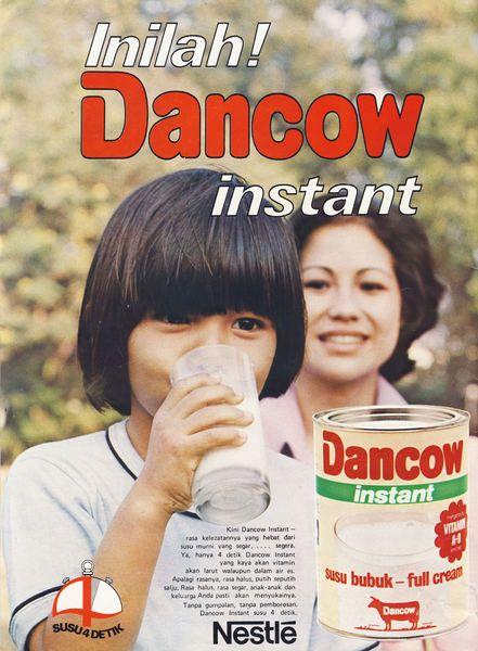 Dancow Milk Gambar Lucu Lucu Periklanan