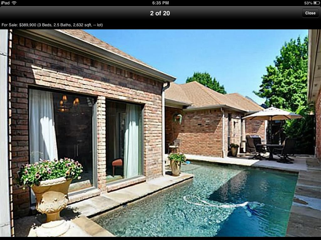 Pool Wraps Around House Beautiful Homes House Styles House