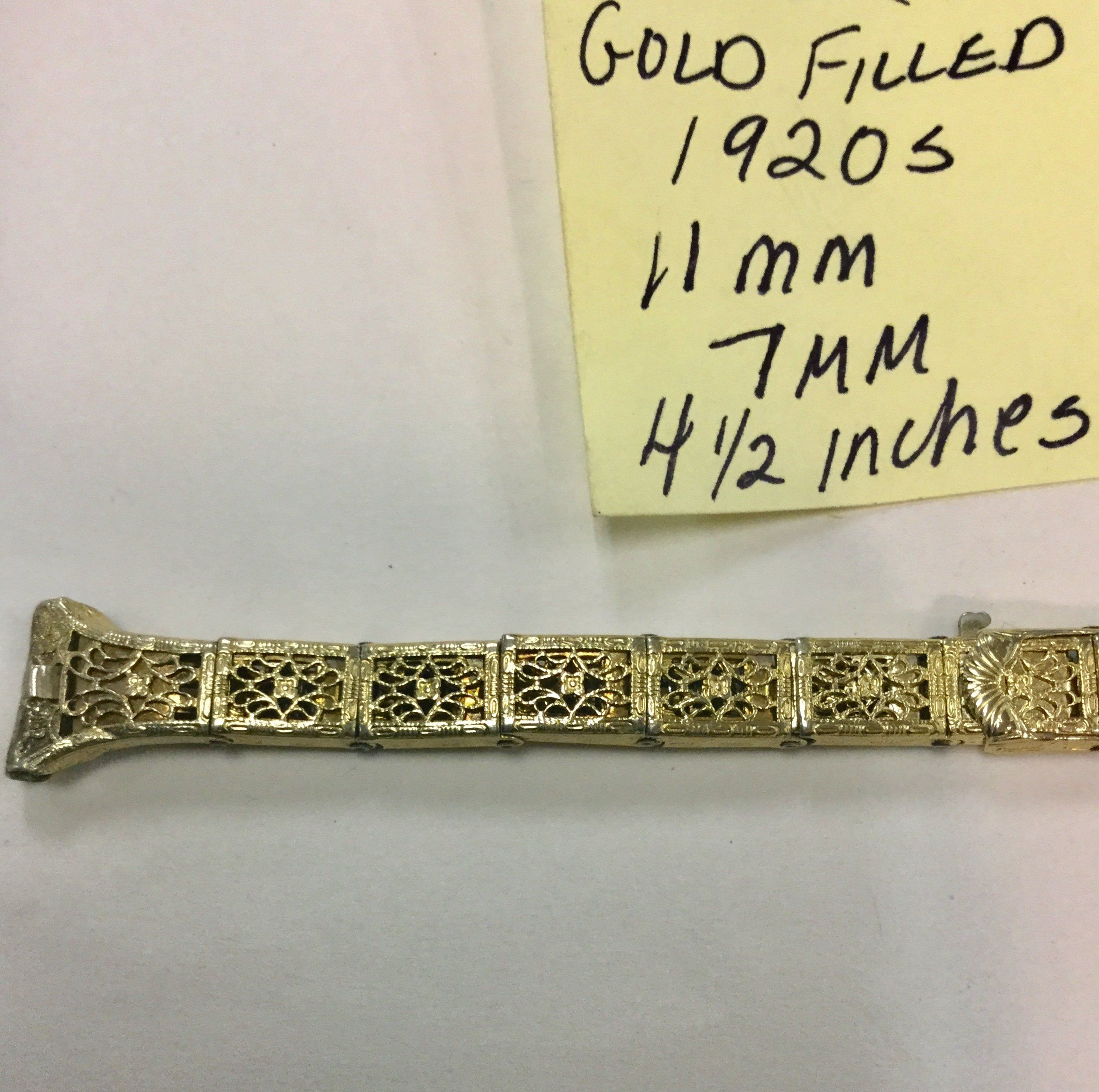 Excited To Share The Latest Addition To My Etsy Shop 1920s Anne Louise 1 10 12k Gold Filled Lace Watch Band 11mm Ends 4 Watch Bands Vintage Band Gold Filled