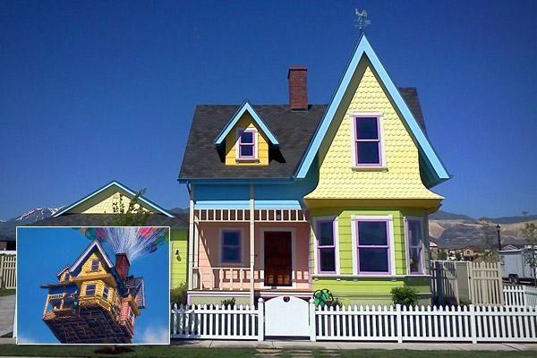 Imitation Homes Unusual Homes House Disney Up House