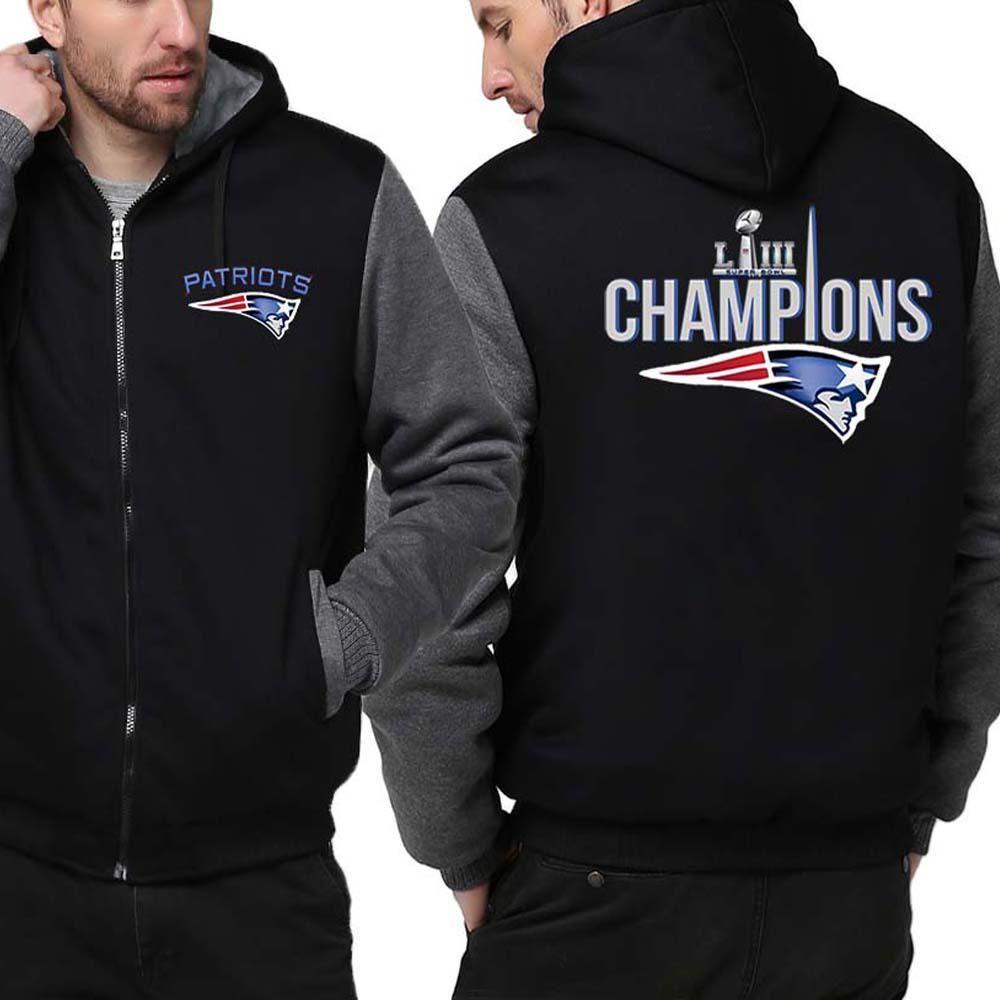 New England Patriots Jacket Super Bowl Liii Varsity Jackets 4 Colors New England Patriots Gear England Patriots Patriots Hoodie