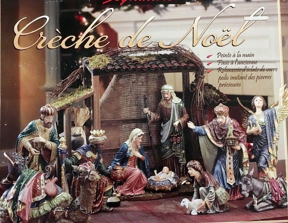 Kirkland Signature Large Nativity Creche De Noel Costco Purchase