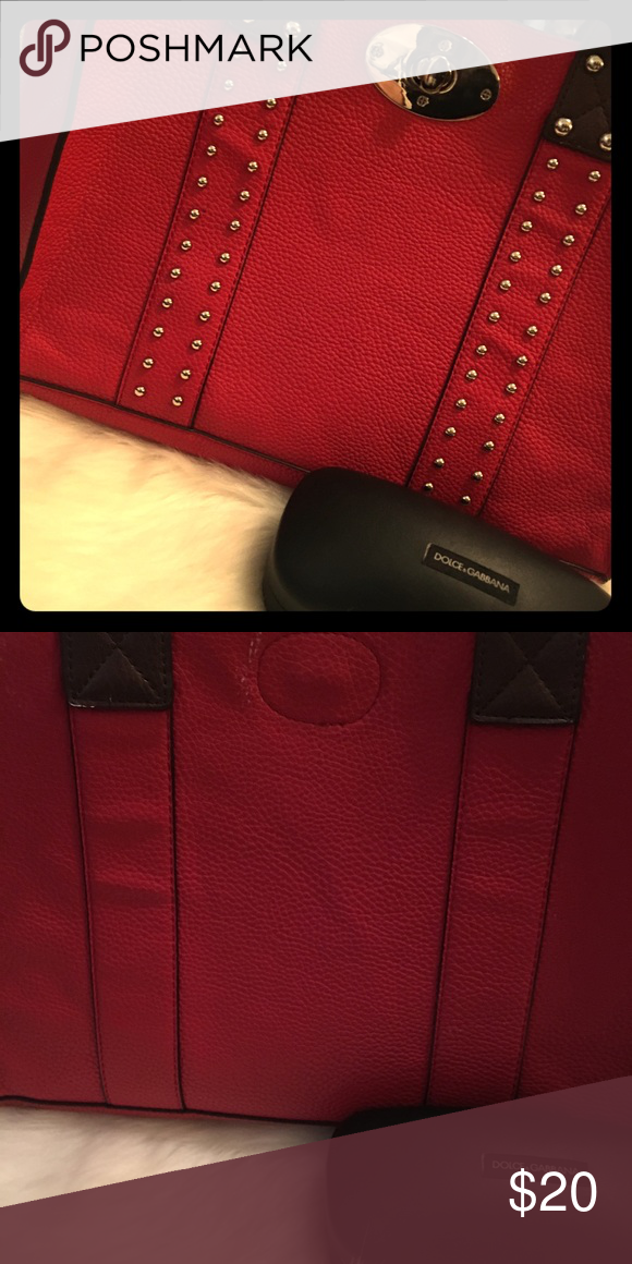 e04bc03bb3d ❤️️head turner Beautiful studded purse. Looks good with any outfit! I  preferred to wear it with black! Boy does it stand out. Bags Totes