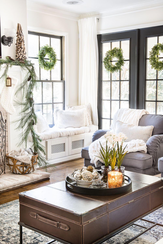 Seasonal Simplicity Christmas Living Room Christmas