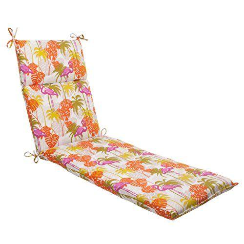 Amazon 72 5 Tropical Pink Flamingo Outdoor Patio Chaise Lounge Cushion Outdoor Patio Chaise Lounge Patio Chaise Lounge Cushions Chaise Lounge Cushions