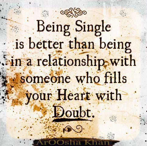 #relationships #doubt #single #heart #love