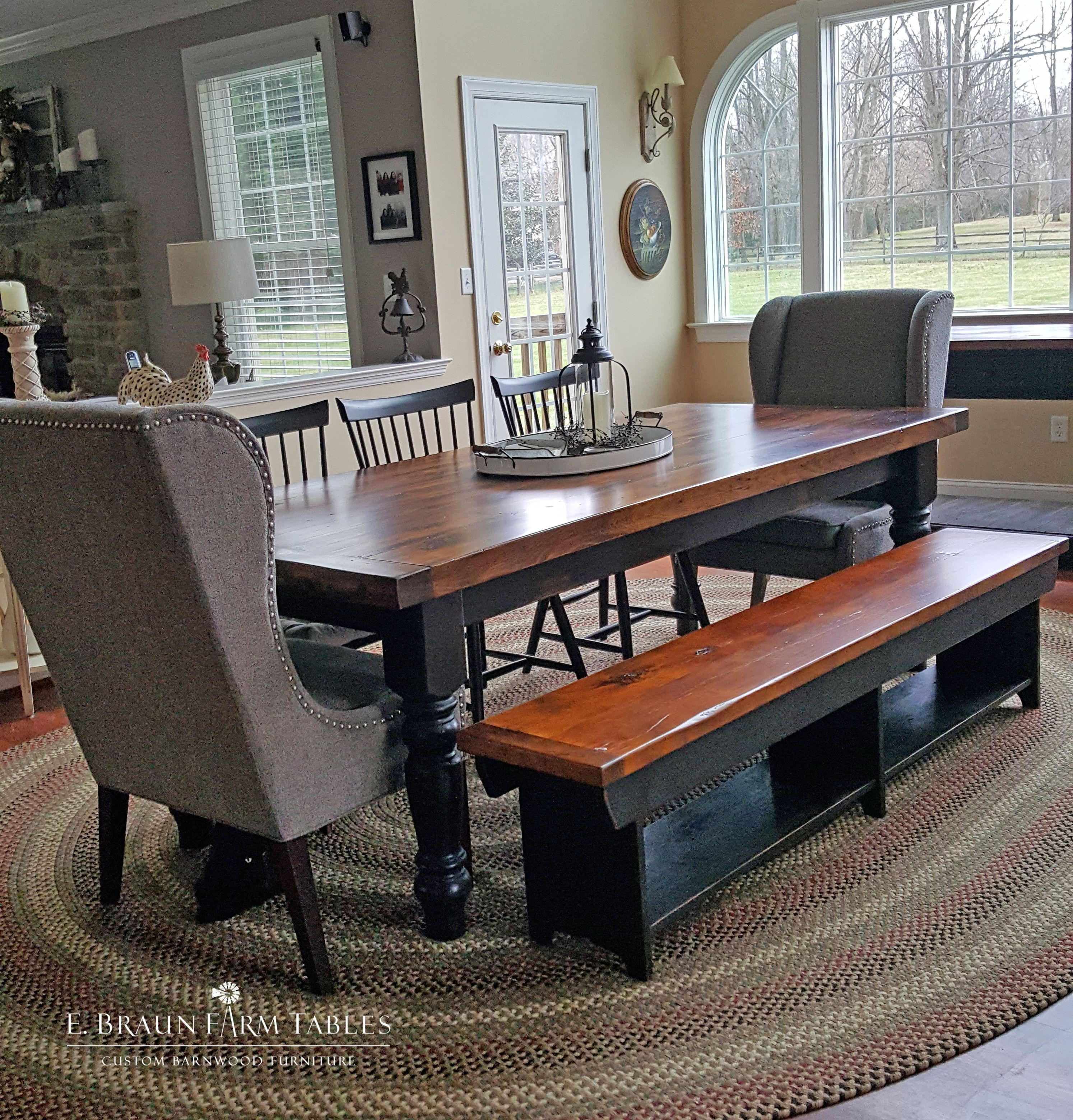 Rustic Dining Room, Dining Room End Chairs