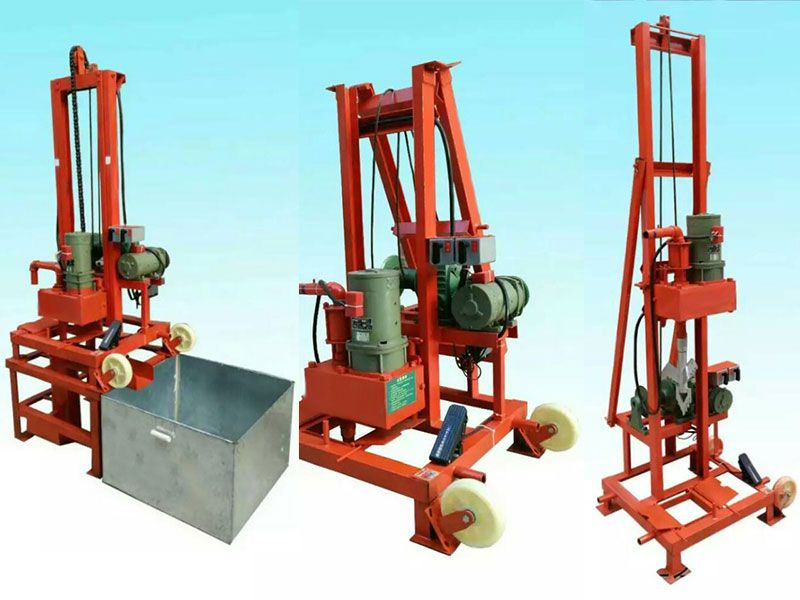 The Water Well Drilling Rig Equipment Is Suitable For Hydrogeological Exploration Construction Engi In 2020 Water Well Drilling Rigs Water Well Drilling Well Drilling