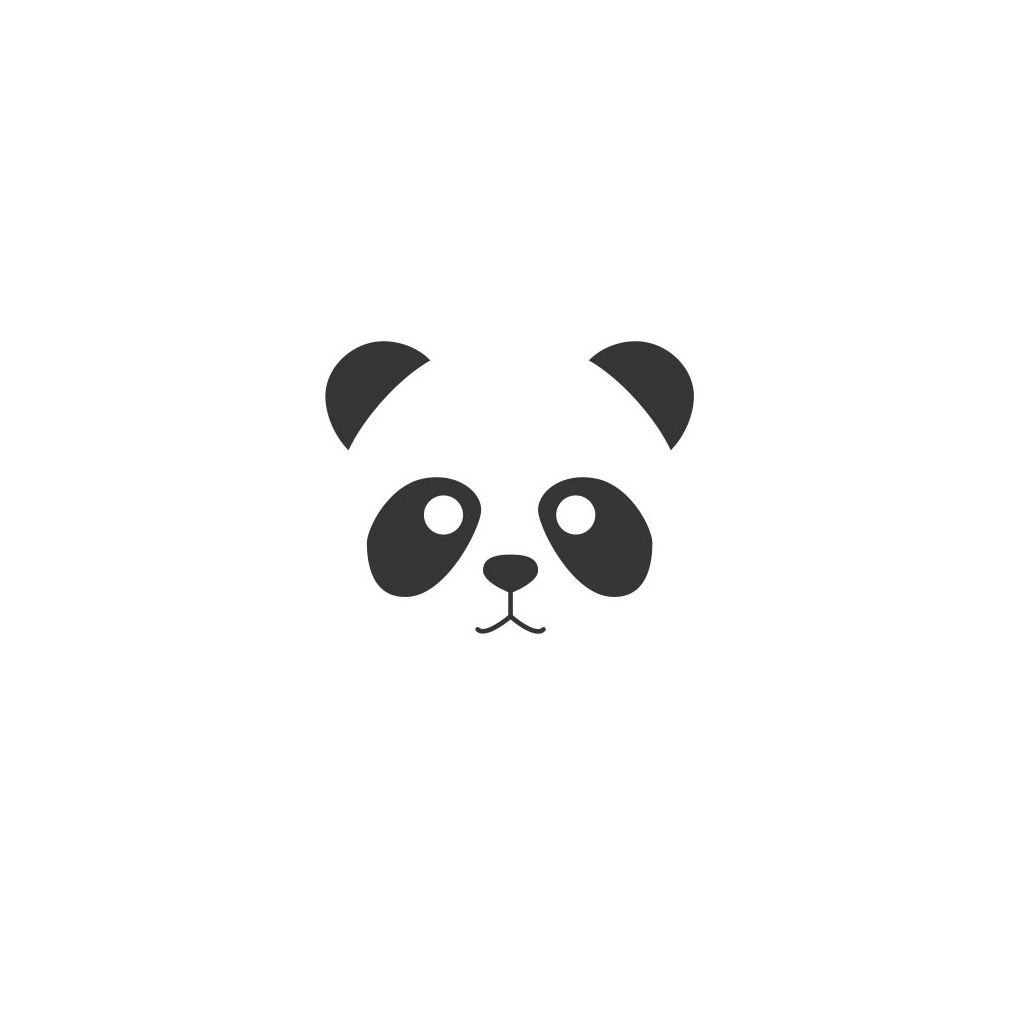 Tampon Encreur Fantaisie Support Bois 4 5x4 5 Cm Tete De Panda X1