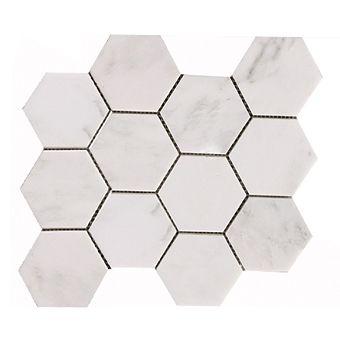 Mwm1107 Calacatta Chiara 1 Inch Hexagon Marble Mosaic 12x12 Marble Mosaic Marble Price Marble Tile Floor