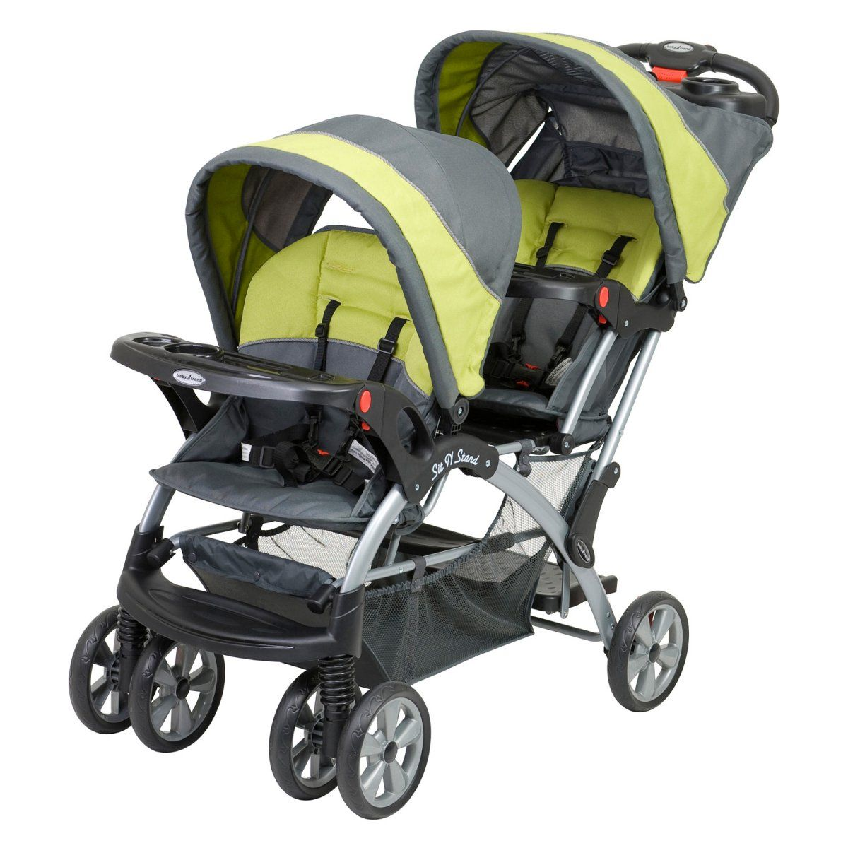 Baby Trend Sit N Stand Double Stroller Carbon Baby Trend Double Stroller Baby Trend Stroller Baby Strollers