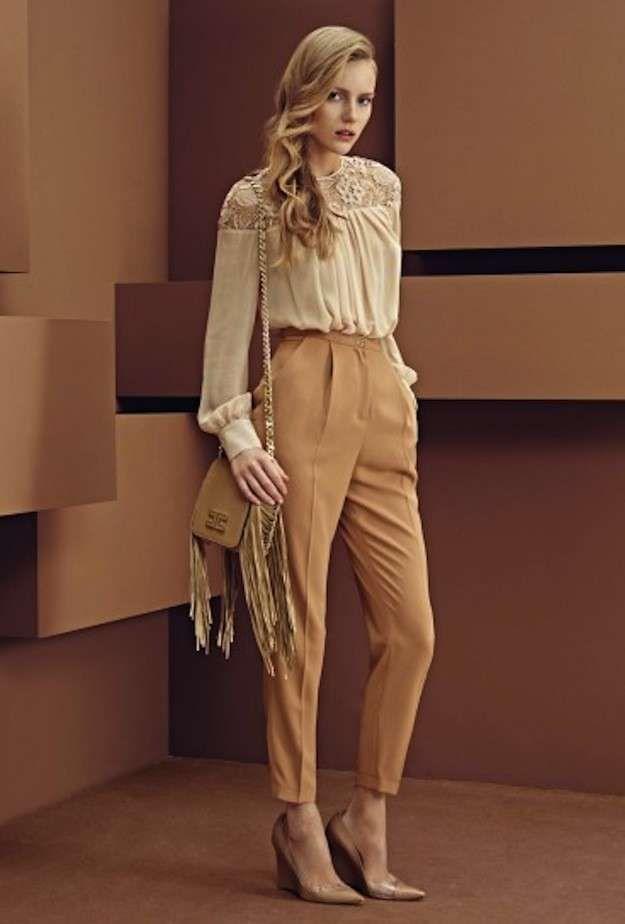 Trajes de fiesta de pantalón para mujer  fotos de los modelos - Conjunto  Elisabetta Franchi 67e098f89385