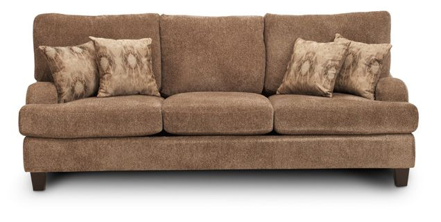 Sofa Mart Orion 96 L X 41 D 39 H 599 Wred In Soft Yet Durable Chenille And Padded With Dense Foam Cushions The Was Designed