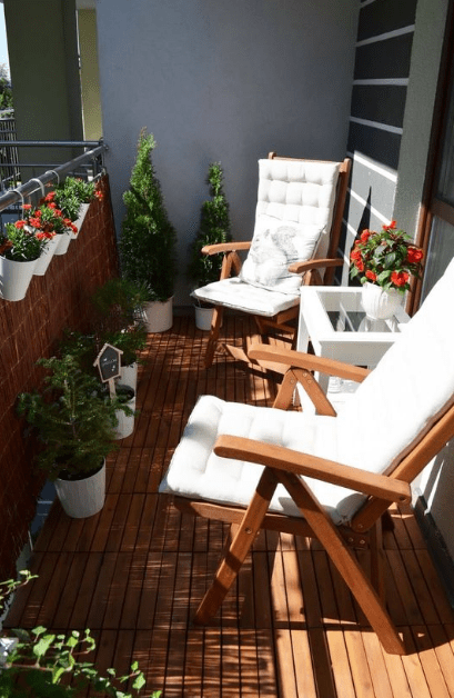 25 cozy apartment balcony decoration ideas