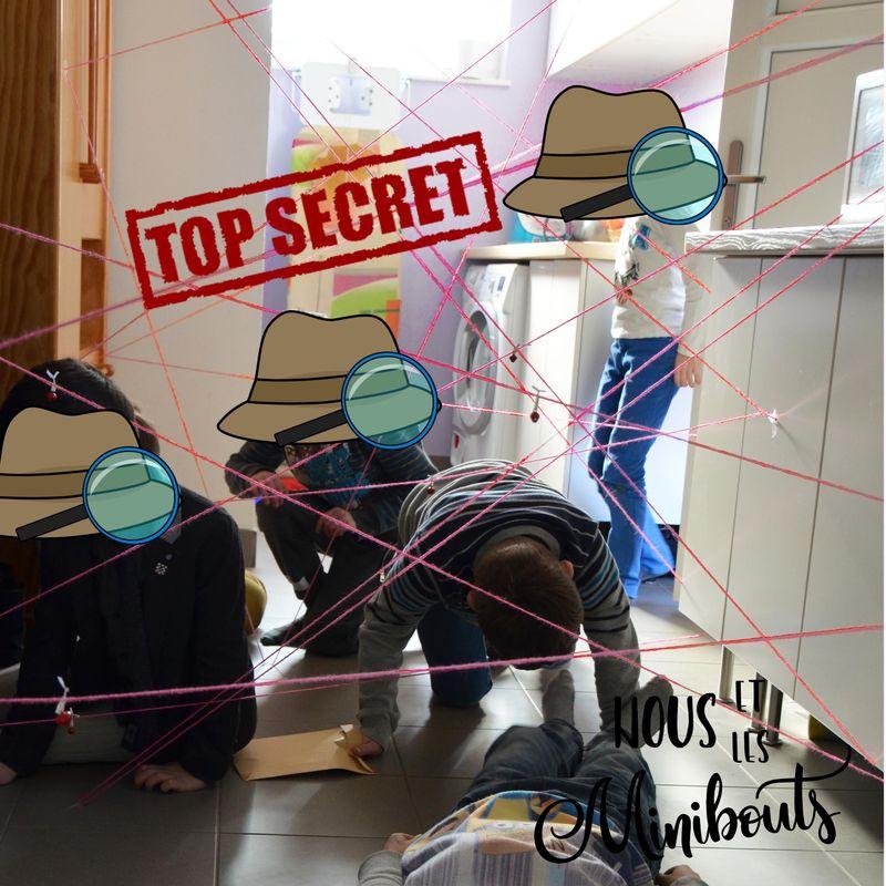 Votre mission, si vous lacceptez, ORGANISER UN ANNIVERSAIRE AGENT SECRET!!! – Nous et les minibouts