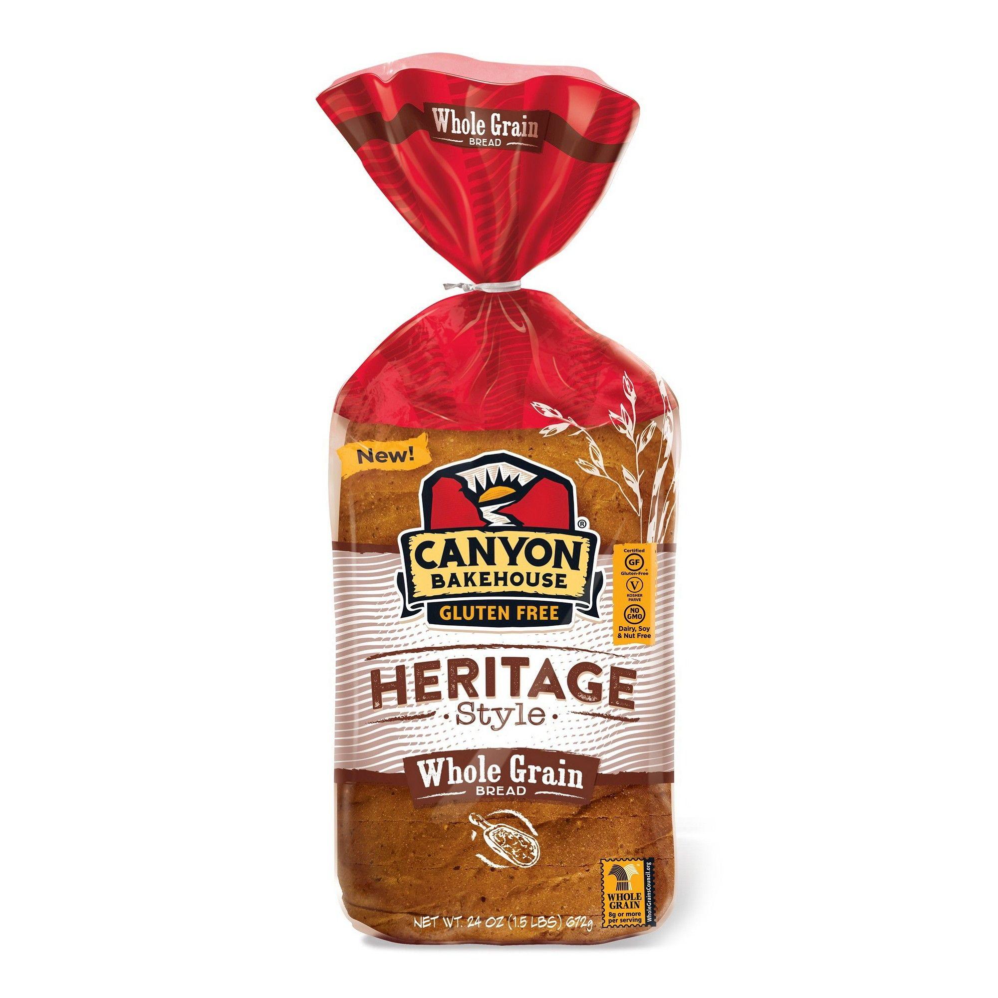 Canyon Bakehouse Gluten Free Heritage Whole Grain Bread