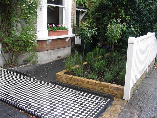 Tiles And Front Garden