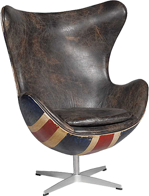 Hirshorn Chair Fudge Union Jack | poltronas | Pinterest | Banderas