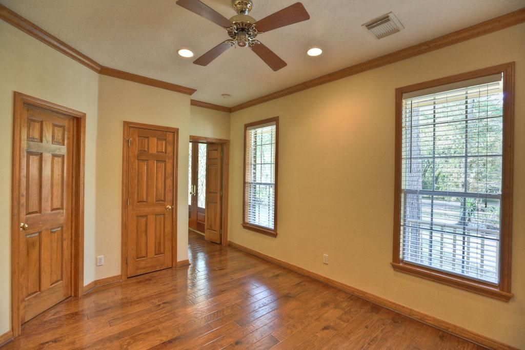 Downstairs Room 13x11 Has Double Doors To The Foyer And