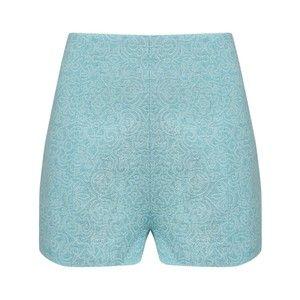 Jacquard High Waisted Shorts A.W.A.K.E. Shorts