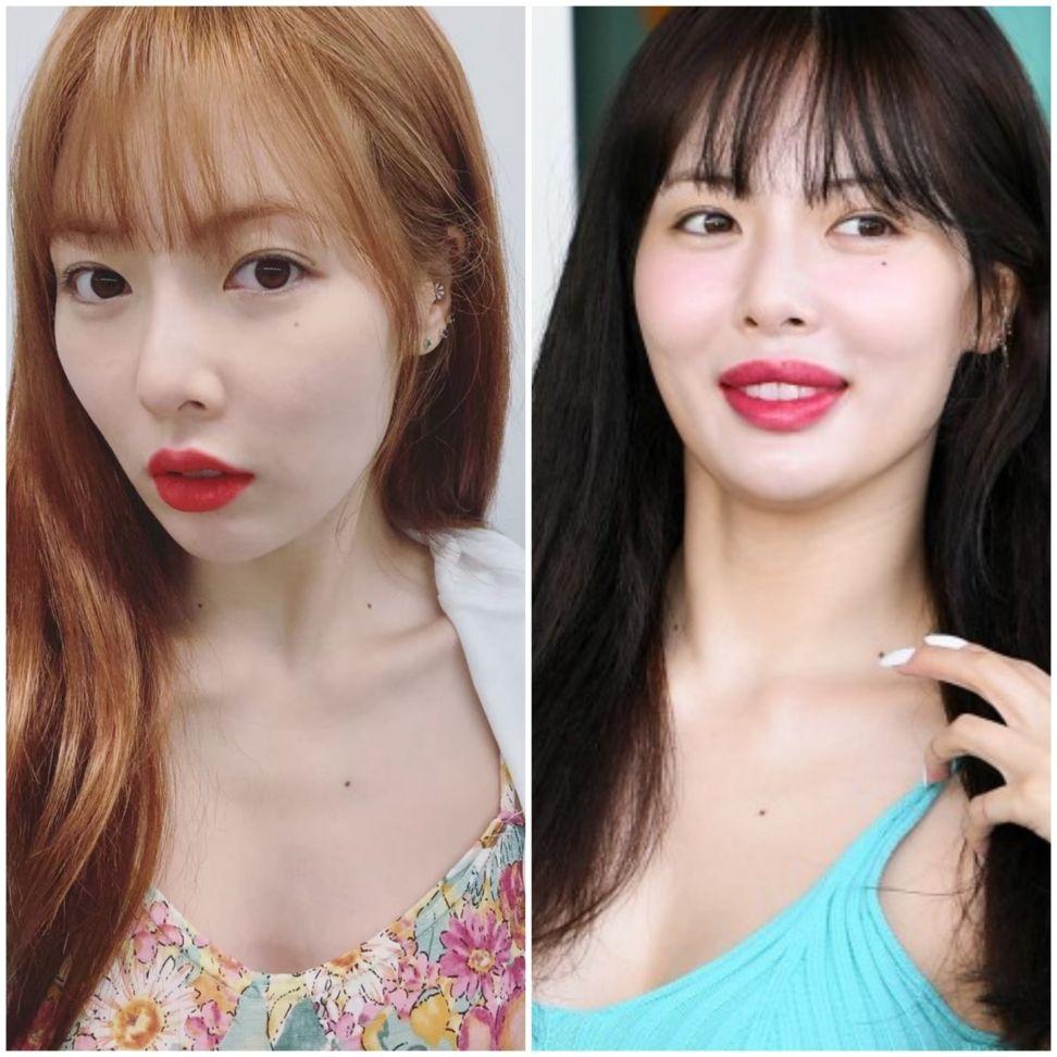 ヒョナの唇に変化が 整形疑惑の真相は トレンド 変化 韓国