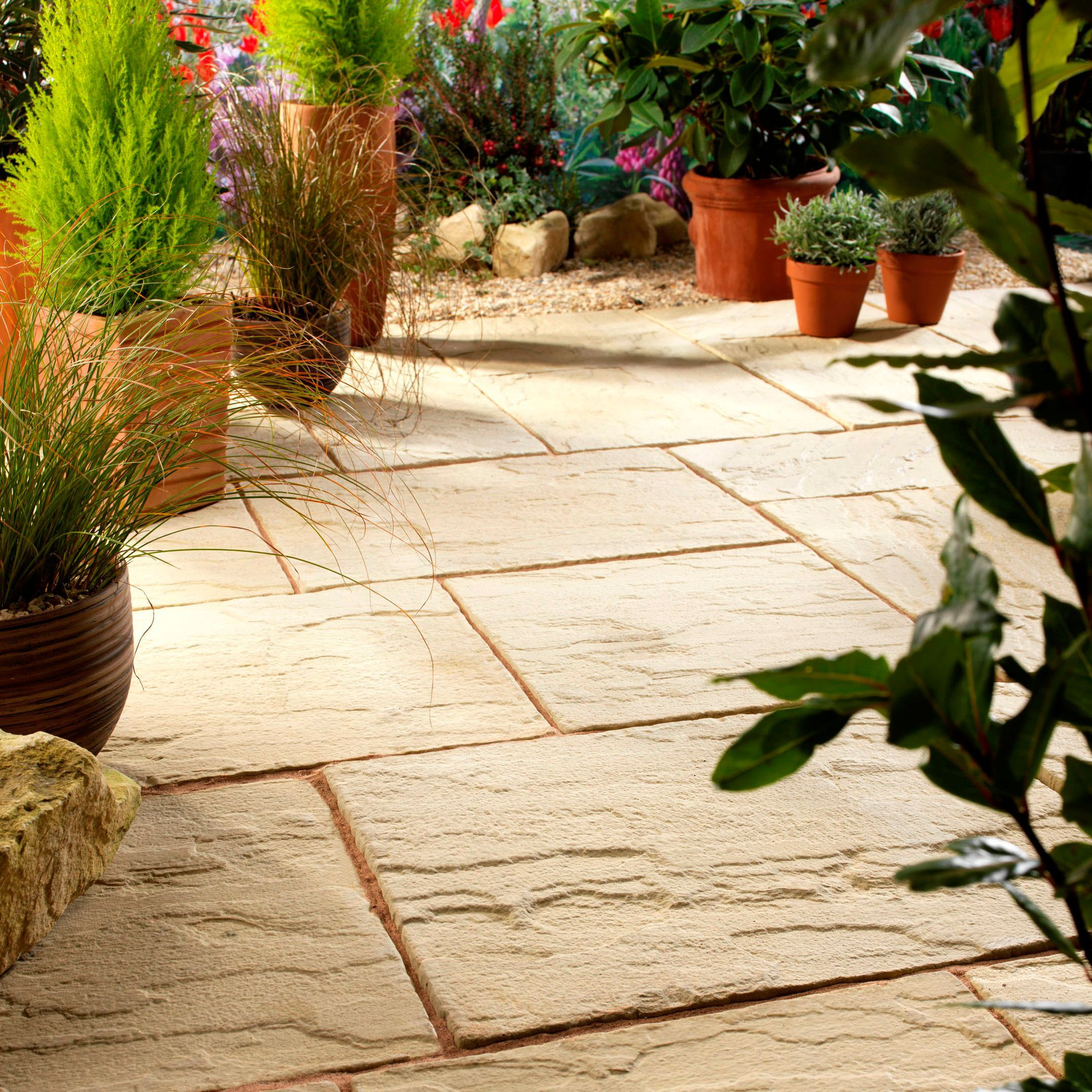 Garden Slabs Ideas