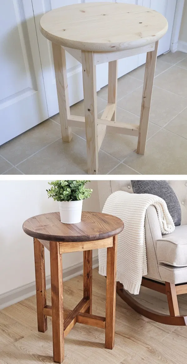 Diy End Table Diy End Tables Small End Tables Diy Table