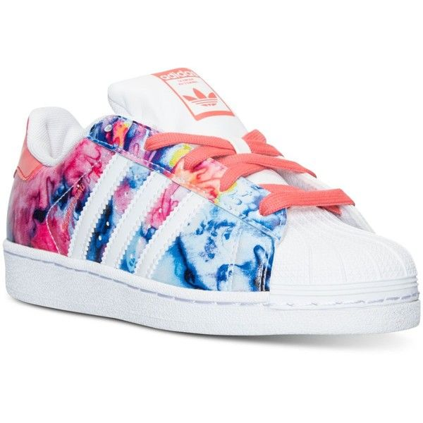 adidas Little Girls\u0027 Superstar Casual Sneakers from Finish Line - Finish  Line Athletic Shoes - Kids \u0026 Baby - Macy\u0027s