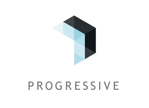 Progressive Identity Design Corporate Comm S By James Good Via Behance Fashion Logo Design Graphic Design Logo Financial Logo