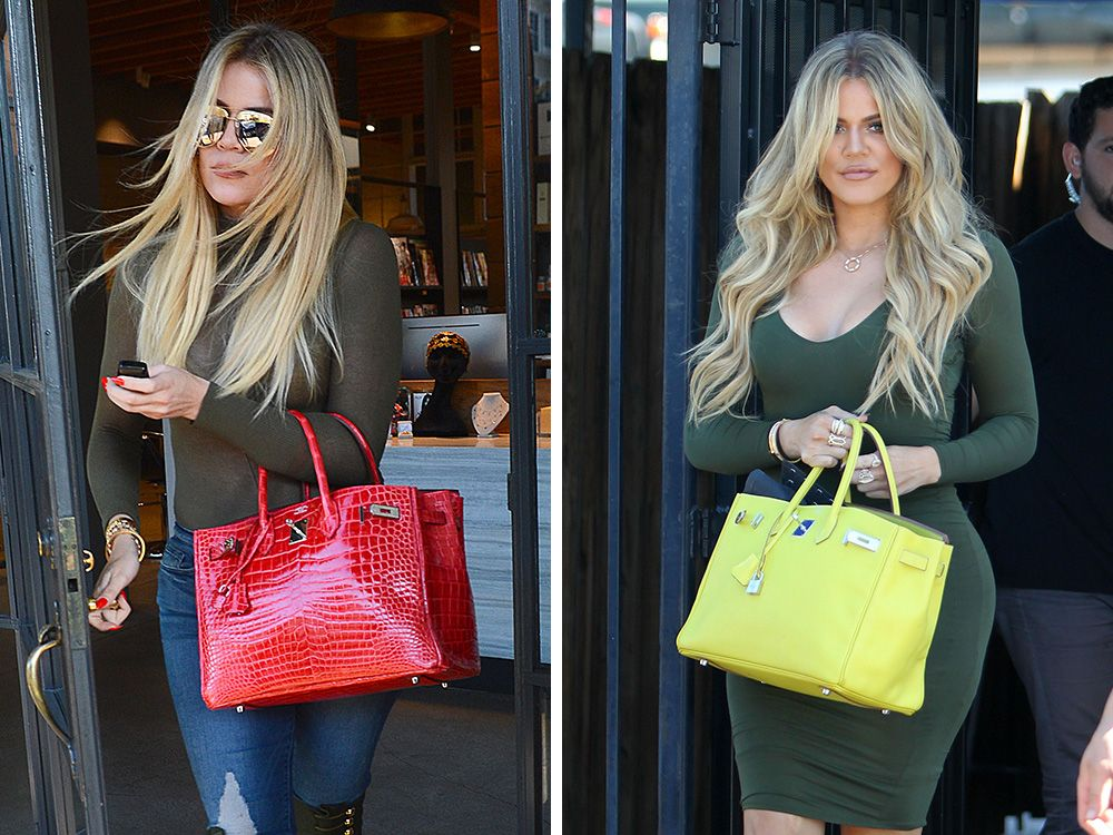 cc56efa240 Just Can't Get Enough: Khloé Kardashian's Hermès Birkin Collection is  Nearly as Impressive as Her Mom's