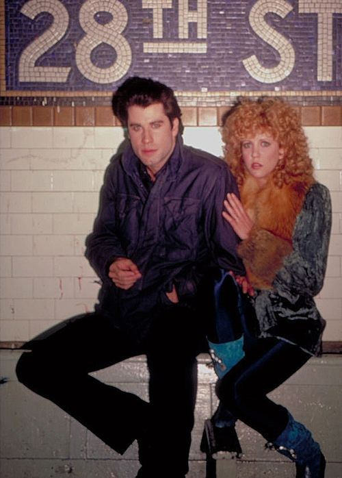 Great publicity shot from BLOW OUT.