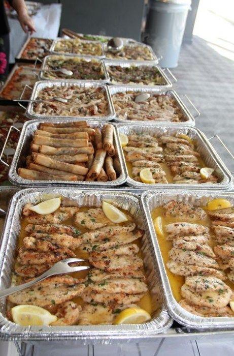 Wedding Food Chicken Families 69 Super Ideas #buffet