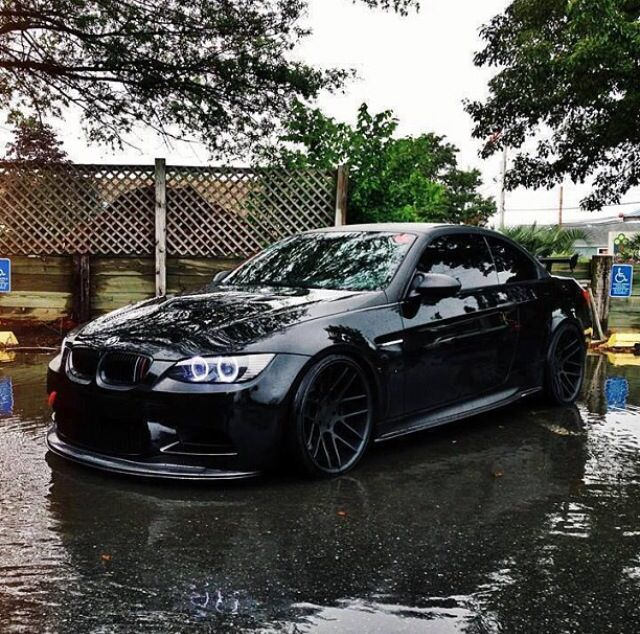 Bmw M3 E92 Murdered Out With Images Bmw Bmw I Bmw Cars