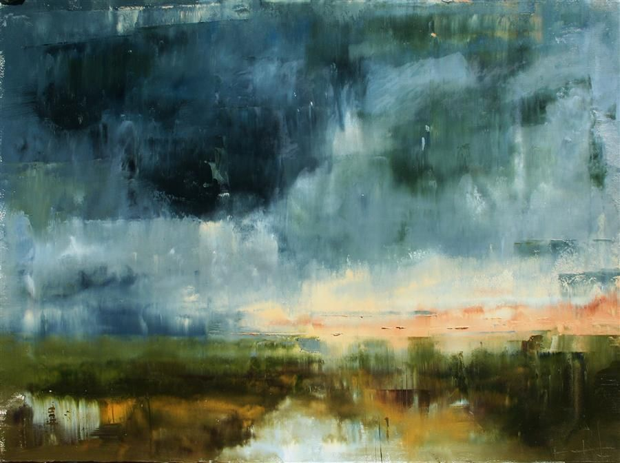 Love This Oil Painting From Ugallery A Montana Sky By Ronda Waiksnis Art Buy Original Art Painting