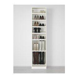 IKEA - PAX, Vaatekaappi, 50x38x201 cm, sarana, pehmeästi sulkeutuva, , 10 vuoden takuu. Lisätietoja ja takuuehdot takuuvihkosessa.Tätä valmista PAX/KOMPLEMENT-kokonaisuutta on helppo muokata omia tarpeita vastaavaksi PAX-suunnittelutyökalun avulla.Saranoissa vaimentimet, joiden ansiosta ovet sulkeutuvat hitaasti, pehmeästi ja lähes äänettömästi.Syvyydeltään kapea kaappi on mainio valinta pieniin tiloihin.Jotta tavarat olisi helppo pitää järjestyksessä, kaappiin kannattaa hankkia…