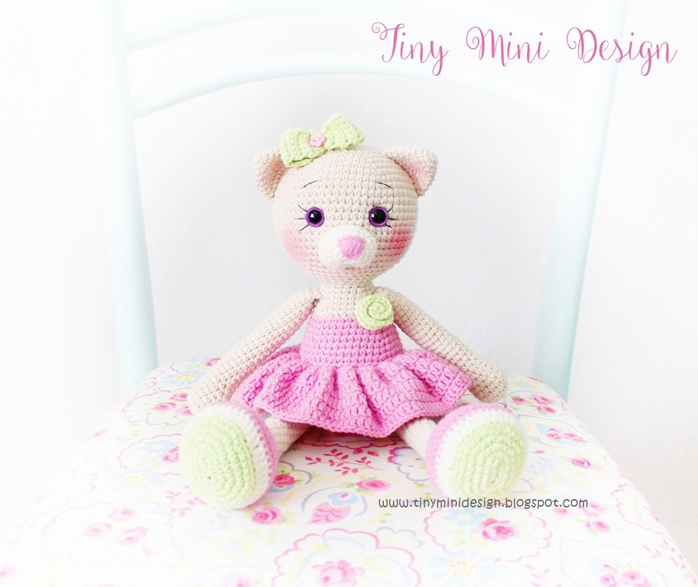 Amigurumi-Cat-tiny-Mini-Design1.JPG (1000×841) | Amigurimis | Pinterest