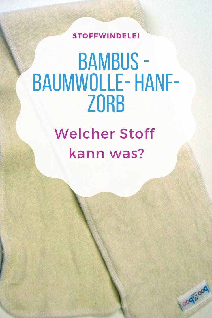 Uberblick Uber Die Saugmaterialien Baumwolle Bambus Hanf Co