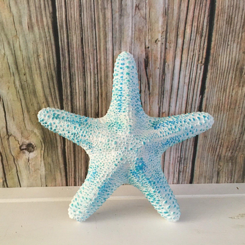 White Large Beach Starfish Wall Decor Starfish Wall Hangings