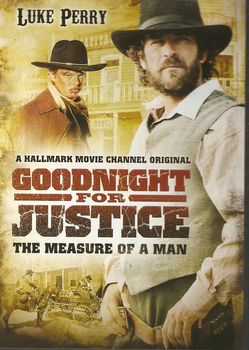 Goodnight For Justice A Measure of a Man. Luke Perry as a