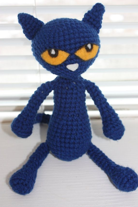 CROCHET PATTERN: Pete the Cat and by CrochetinginCanada on Etsy ...