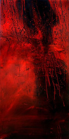 Scarlet Reflection By Mimi Yoon Red Wallpaper Red Painting Red Art