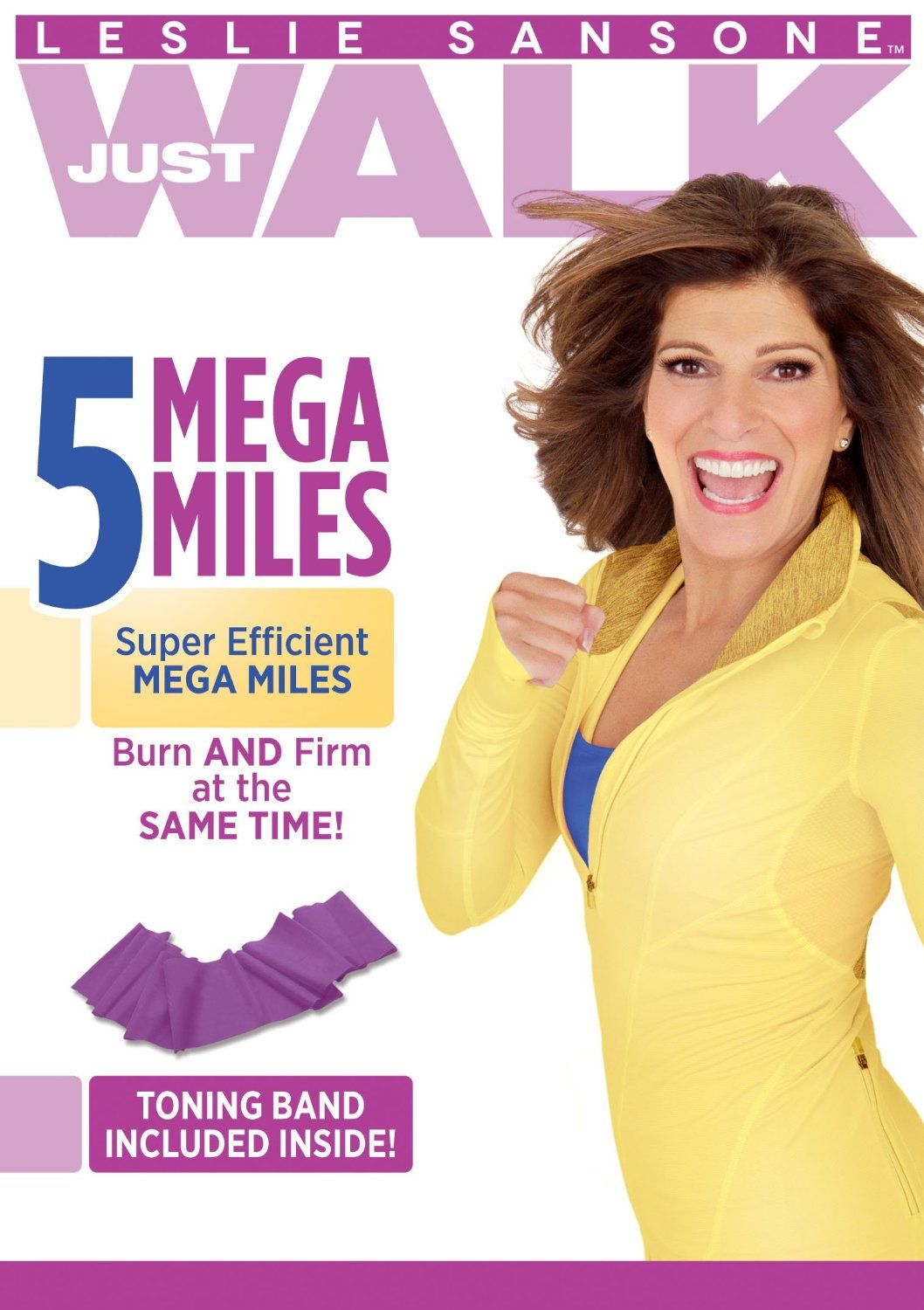 Leslie sansone 5 mega miles with toning band the review stew best workout dvdsworkout