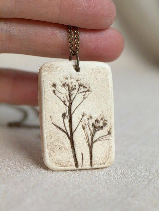 Earthy nature stamped pendants crafts pinterest earthy earthy nature stamped pendants mozeypictures