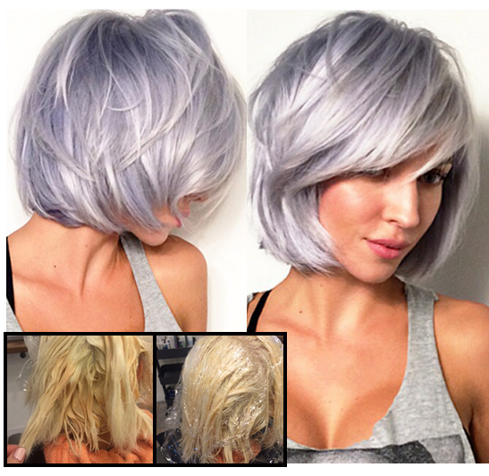 Silver Hair Color Aveda