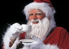 Santa is on his way. It is almost Christmas. Kerst