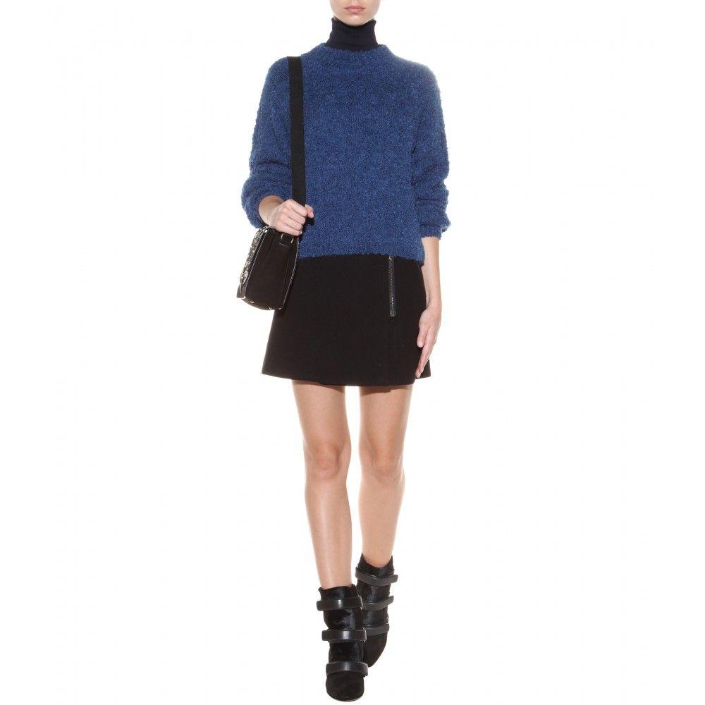 mytheresa.com - Ottawa textured-knit sweater - Luxury Fashion for Women / Designer clothing, shoes, bags