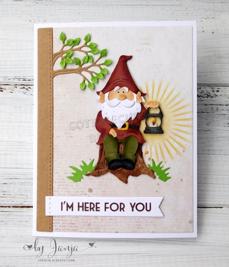 CottageCutz Gnome On Tree Stump에 대한 이미지 검색결과