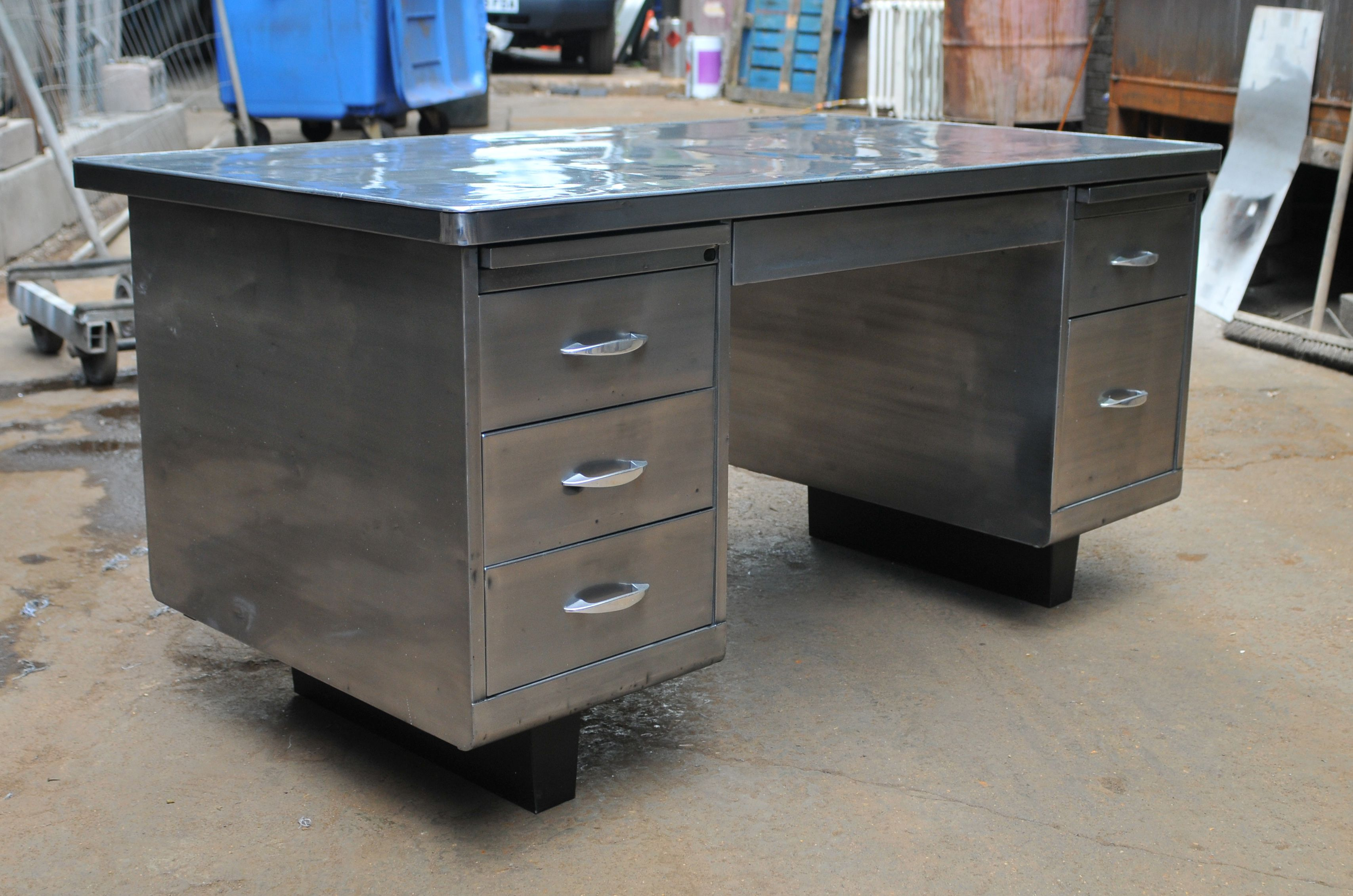 Uncategorized Vintage Steel Tanker Desk tanker desk which i already have love this thing guess what i